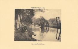 Pont-Aven - L´Aven Au Bois D´Amour - Carte Non Circulée - Pont Aven