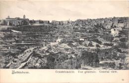 ¤¤  -  12  -  BETHLEHEM   -   Vue Générale   -  ¤¤ - Palestine
