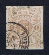 Luxembourg: 1859 Mi.nr. 3 Used/obl - 1859-1880 Wapenschild