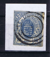 Luxembourg: 1859 Mi.nr. 6a, Yv 6b Used/obl , Signed/signiert/ Approvato