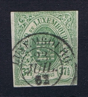 Luxembourg: 1859 Mi.nr. 10 Used/obl Signed/signiert/ Approvato