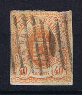 Luxembourg: 1859 Mi.nr. 11 Used/obl Signed/signiert/ Approvato
