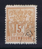 Luxembourg: 1882 Mi.nr. 56 Yv 58, Used / Obl, Perfo 13,50