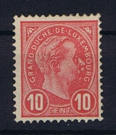 Luxembourg: 1895 Mi.nr. 71 Yv 73, MNH/**, - 1895 Adolphe Right-hand Side