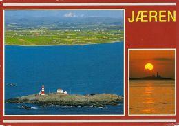 1 AK Norwegen * Insel Feistein Mit Dem 1914 Erbauten Leuchtturm In Der Provinz Rogaland - Norvegia
