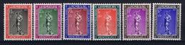 Luxembourg:  Mi.nr. 303-308, Yv 294-299 MNH/** 1937