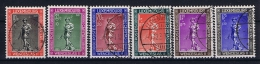 Luxembourg:  Mi.nr. 303-308, Yv 294-299 Used 1937