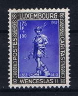Luxembourg:  Mi.nr. 308, Yv 299a MH/*/Charn. 1937 Caritas = CariFas