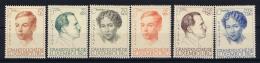 Luxembourg:  Mi.nr. 333 - 338, Yv 325 - 329  1939 MH/* - Ongebruikt