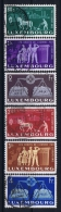 Luxembourg:  Mi.nr. 478 - 483  1951 Used