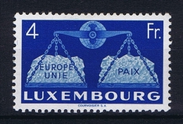Luxembourg:  Mi.nr.  483  1951 MH/*