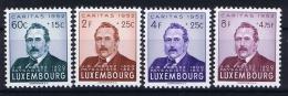 Luxembourg:  Mi.nr.  501 - 504  1952 MNH/**