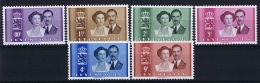 Luxembourg:  Mi.nr.  505 - 510  1953 MNH/** - Unused Stamps