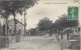 CPA, Sevran, Route Nationale - Sevran