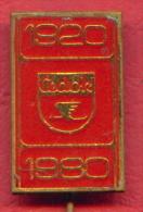F2187 / CEDOK - Largest Travel Corporation - Czechoslovakia Tchecoslovaquie Tschechoslowakei  -  Badge Pin - Trasporti