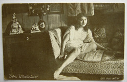 VERA WRATISLAVA - Old Postcard. Actors Pc G01/50 - Attori