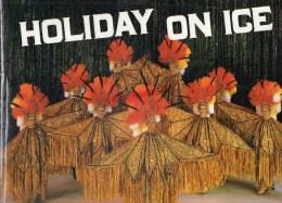 69 - LYON - BEAU PROGRAMME HOLIDAY ON ICE -18 OCTOBRE 1986- MAURICE ANELLI- LES RASTELLIS- DAVID COUSANS- - Programmes