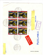 ITALIA - Espresso (frontespizio) Con Sassone 1686 - Chianciano Terme  (turismo) - 1981-90: Storia Postale