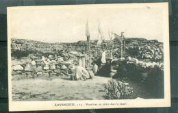 Abyssinie  - 14 - Musulman En Prière Dans Le Desert  - Daz122 - Ethiopie