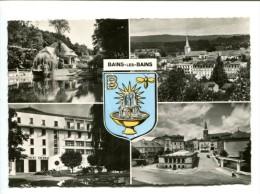 CP -  BAINS LES BAINS (88) Vue Générale - Bains Les Bains