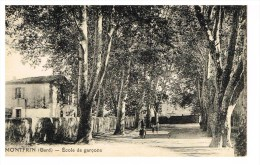 Cartes De Montfrin Ecrite Au Dos En Date Du14 Aout 1924 ( Lettre Pour Raymonde) - France