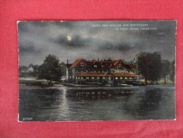 Michigan > Grand Rapids  North Park Pavilion & Waterfront  At Night  1915  Cancel   Ref 1270 - Grand Rapids
