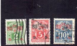 ESTONIE 1928 O - Estonia