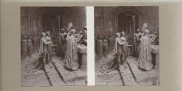 Deux Vues Stéréoscopiques/ NAPOLEON/ Wagram 1809/ Mariage 1810/ /France/ Vers 1900   STE75 - Stereoscopic