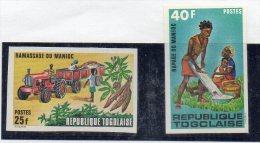 Serie Nº 744/5 Togo - Jobs