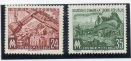 Serie Nº 113/4 Alemania Oriental - Profesiones