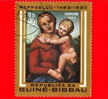 GUINEA BISSAU - 1983 - 500 Anni Della Nascita Di Raffaello - Madonna E Bambino - 15 - Guinea-Bissau