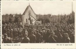 L'ARMEE BELGE EN CAMPAGNE, La Messe En Plein Air / BELGISCH LEGER TE VELDE, Mis In Open Lucht - Guerre 1914-18