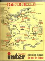 TOUR DE FRANCE  1977 - Road Book 120  Pages - Format 28  X 23  . ( + Port ) - Cycling