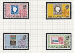 Death Centenary Of Sir Rowland Hill - Gambia (...-1964)