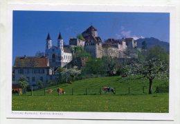 SWITZERLAND - AK195061 Kanton Aargau - Festung Aarburg - AG Argovie