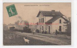 ARGENTON BAIGNETTES : La Gare Du Tramway - Très Bon état - Autres Communes