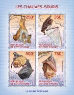 ic14102a Ivory Coast 2014 Bats s/s
