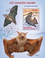 ic14102b Ivory Coast 2014 Bats s/s
