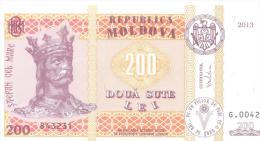 2013. Moldova, 200L/2013, UNC - Moldavie