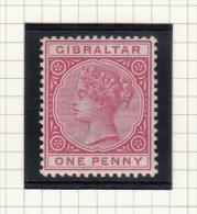Queen Victoria - 1886 - Gibraltar