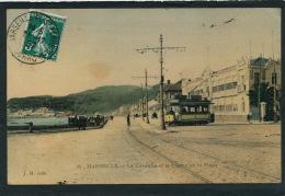 MARSEILLE - La Corniche Et Le Casino De La Plage (tramway) - Endoume, Roucas, Corniche, Plages