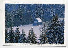 SWITZERLAND - AK195081 Kanton Appenzell-Ausserrhoden - Winterlandschaft Bei Heiden - AR Appenzell Outer-Rhodes