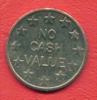 F2418 / - SLOT MACHINE - NO CASH VALUE - EUROPE - 25 Mm - Jeton Token  Gettone  - - Casino