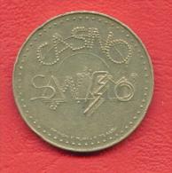 F2427 / - Casino Municipale Di Sanremo  -  29 Mm - Jeton Token  Gettone - San Remo Italia Italy Italie Italien Italie - Casino