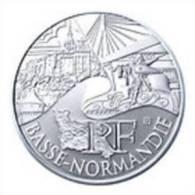 10 Euros 2011 Région BASSE NORMANDIE - France