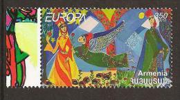 """ARMENIA -  EUROPA 2010 - Annuale Tema: """"LIBRI PER BAMBINI"""".- SERIE Di 1 FRANCOBOLLI  DENTATA - Europa-CEPT"""