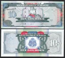 HAITI  : 10 Gourdes - 2000 - UNC - Haiti