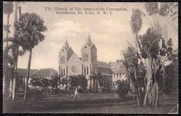 THE CHURCH IMMACULATE CONCEPTION BASSETERRE ST KITTS - Saint-Christophe-et-Niévès