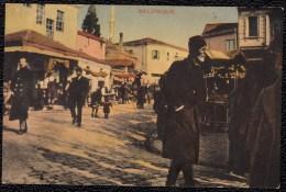 SALONIQUE MARKET 1916 - Grèce