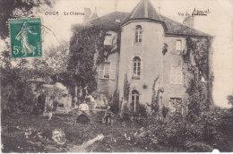 OUGE, Le Château , Circulée - Francia
